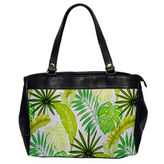 Amazon Forest Natural Green Yellow Leaf Office Handbags