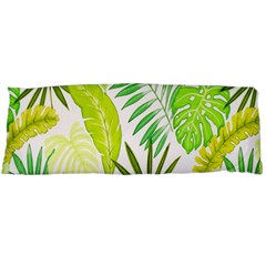 Amazon Forest Natural Green Yellow Leaf Body Pillow Case Dakimakura (two Sides)