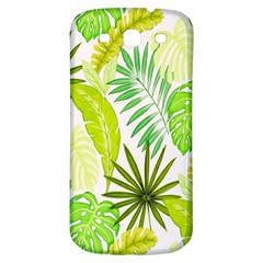 Amazon Forest Natural Green Yellow Leaf Samsung Galaxy S3 S Iii Classic Hardshell Back Case