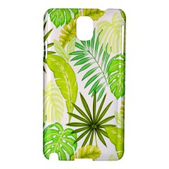 Amazon Forest Natural Green Yellow Leaf Samsung Galaxy Note 3 N9005 Hardshell Case