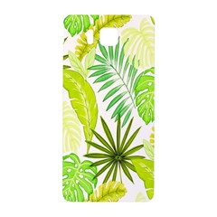 Amazon Forest Natural Green Yellow Leaf Samsung Galaxy Alpha Hardshell Back Case