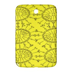 Yellow Flower Floral Circle Sexy Samsung Galaxy Note 8 0 N5100 Hardshell Case