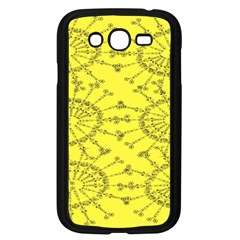 Yellow Flower Floral Circle Sexy Samsung Galaxy Grand Duos I9082 Case (black)