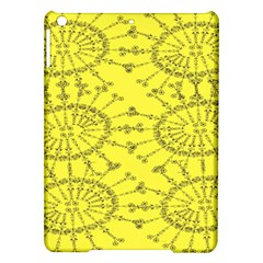Yellow Flower Floral Circle Sexy Ipad Air Hardshell Cases