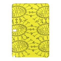 Yellow Flower Floral Circle Sexy Samsung Galaxy Tab Pro 10 1 Hardshell Case