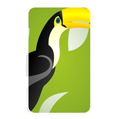 Cute Toucan Bird Cartoon Fly Yellow Green Black Animals Memory Card Reader