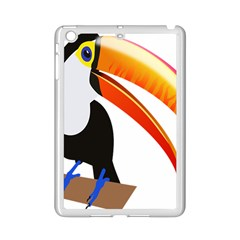 Cute Toucan Bird Cartoon Fly Ipad Mini 2 Enamel Coated Cases