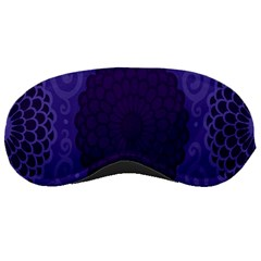 Flower Floral Sunflower Blue Purple Leaf Wave Chevron Beauty Sexy Sleeping Masks