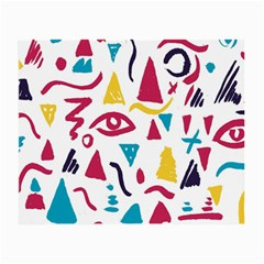 Eye Triangle Wave Chevron Red Yellow Blue Small Glasses Cloth