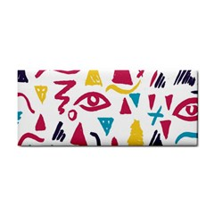 Eye Triangle Wave Chevron Red Yellow Blue Cosmetic Storage Cases