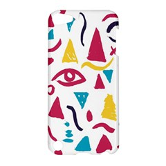 Eye Triangle Wave Chevron Red Yellow Blue Apple Ipod Touch 5 Hardshell Case