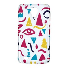 Eye Triangle Wave Chevron Red Yellow Blue Galaxy S4 Active