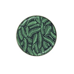 Coconut Leaves Summer Green Hat Clip Ball Marker (4 Pack)