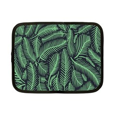 Coconut Leaves Summer Green Netbook Case (small)