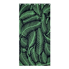 Coconut Leaves Summer Green Shower Curtain 36  X 72  (stall)