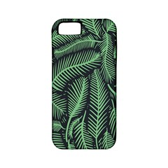 Coconut Leaves Summer Green Apple Iphone 5 Classic Hardshell Case (pc+silicone)