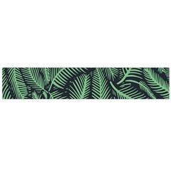Coconut Leaves Summer Green Flano Scarf (large)