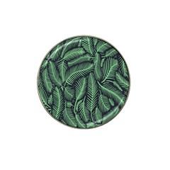 Coconut Leaves Summer Green Hat Clip Ball Marker