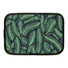 Coconut Leaves Summer Green Netbook Case (medium)