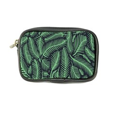 Coconut Leaves Summer Green Coin Purse