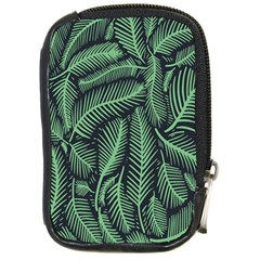 Coconut Leaves Summer Green Compact Camera Cases