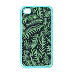 Coconut Leaves Summer Green Apple Iphone 4 Case (color)