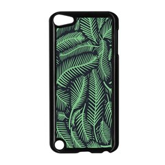 Coconut Leaves Summer Green Apple Ipod Touch 5 Case (black)
