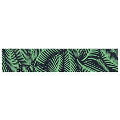 Coconut Leaves Summer Green Flano Scarf (small)