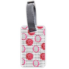 Fruit Patterns Bouffants Broken Hearts Dragon Polka Dots Red Black Luggage Tags (two Sides)