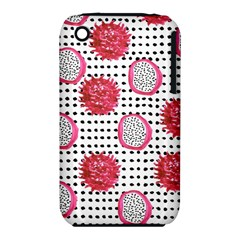 Fruit Patterns Bouffants Broken Hearts Dragon Polka Dots Red Black Iphone 3s/3gs