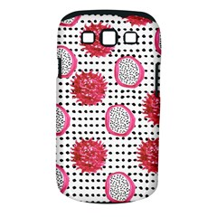 Fruit Patterns Bouffants Broken Hearts Dragon Polka Dots Red Black Samsung Galaxy S Iii Classic Hardshell Case (pc+silicone)