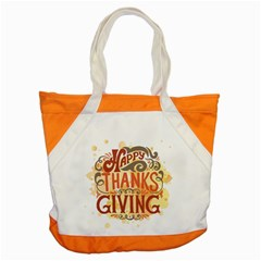 Happy Thanksgiving Sign Accent Tote Bag