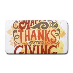Happy Thanksgiving Sign Medium Bar Mats