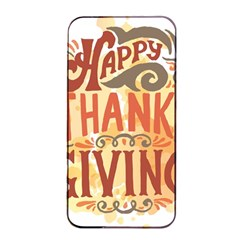 Happy Thanksgiving Sign Apple Iphone 4/4s Seamless Case (black)