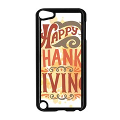 Happy Thanksgiving Sign Apple Ipod Touch 5 Case (black)