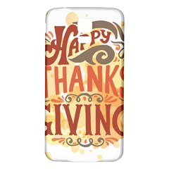 Happy Thanksgiving Sign Samsung Galaxy S5 Back Case (white)