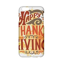 Happy Thanksgiving Sign Apple Iphone 6/6s Hardshell Case