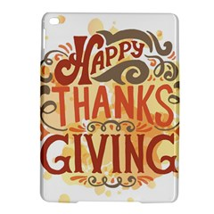 Happy Thanksgiving Sign Ipad Air 2 Hardshell Cases