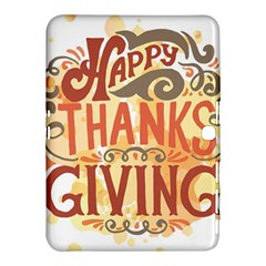 Happy Thanksgiving Sign Samsung Galaxy Tab 4 (10 1 ) Hardshell Case