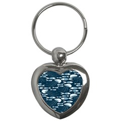 Jellyfish Fish Cartoon Sea Seaworld Key Chains (heart)