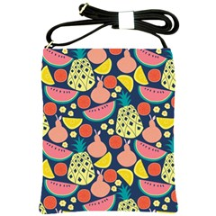 Fruit Pineapple Watermelon Orange Tomato Fruits Shoulder Sling Bags