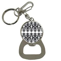 Model Traditional Draperie Line Black White Triangle Button Necklaces