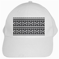 Model Traditional Draperie Line Black White White Cap