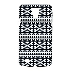Model Traditional Draperie Line Black White Galaxy S4 Active
