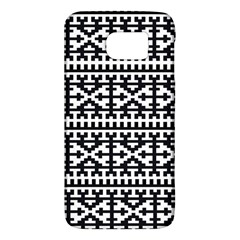 Model Traditional Draperie Line Black White Galaxy S6