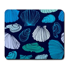 Mega Menu Seashells Large Mousepads