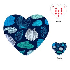 Mega Menu Seashells Playing Cards (heart)