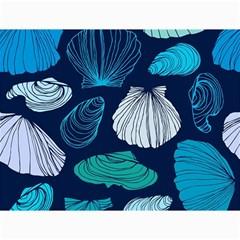 Mega Menu Seashells Canvas 36  X 48