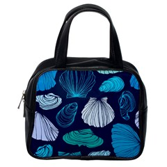 Mega Menu Seashells Classic Handbags (one Side)