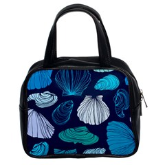 Mega Menu Seashells Classic Handbags (2 Sides)